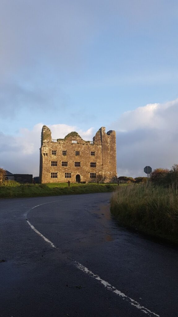 This image is of Leamaneh castle in County Clare