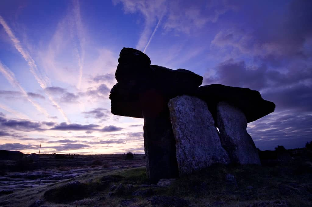 This image is of Poulnabrone Dolmen, The Burren